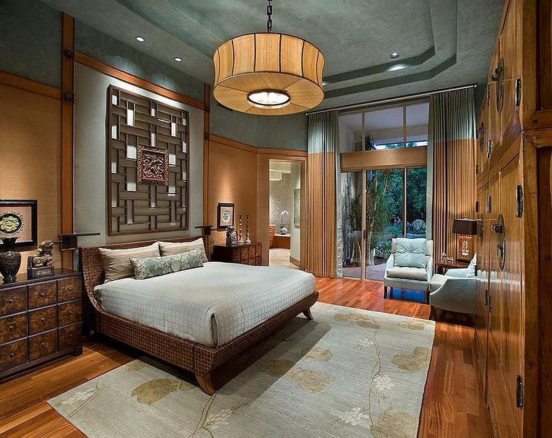 Phong cách phòng ngủ với nội thất sang trọng